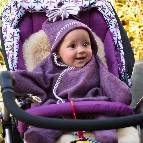 Конверт для малыша из флиса в виде звезды: выкройка для шитья