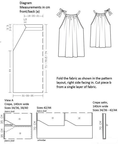 руками: выкройка для шитья