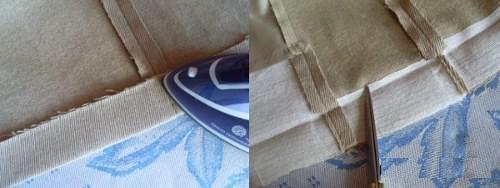 Почему после подшивания подгибку нужно приутюжить с изнаночной стороны