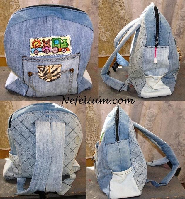 Эргономичный рюкзак как сшить мастер класс сделать #1