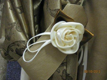 Цветы для штор: мастер класс по изготовлению подхватов для штор своими руками
