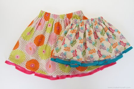 Как сшить детскую юбку складками фото 689