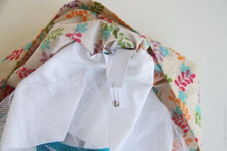 Как сшить детскую юбку складками фото 903