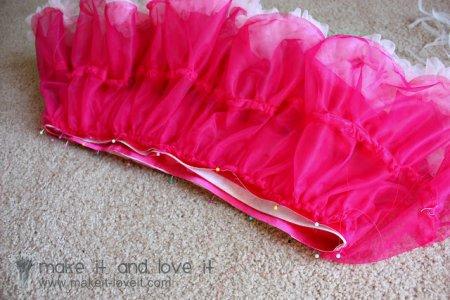 Как сшить юбку американку для девочки: выкройка и ход работы