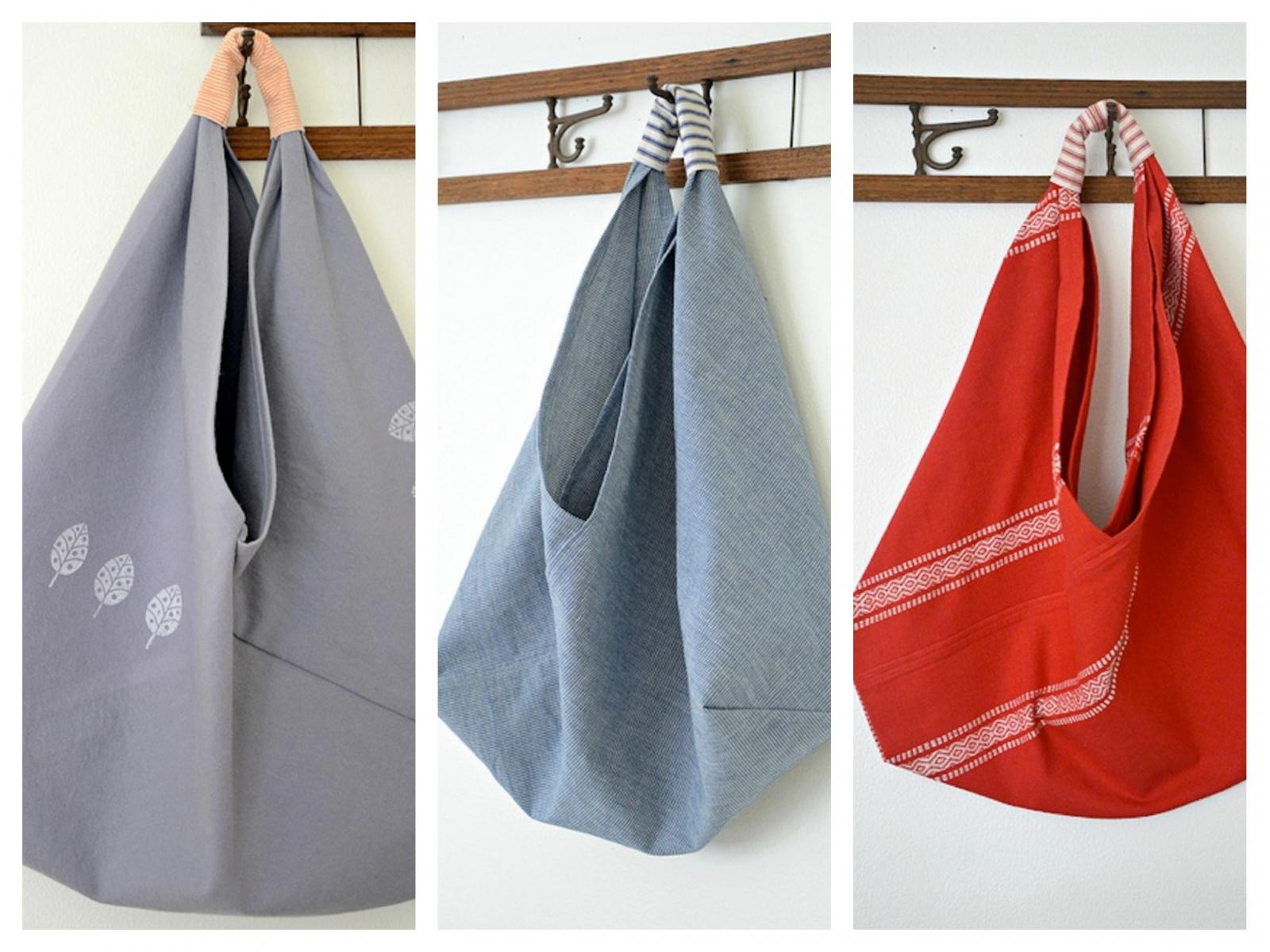 Как сшить пляжную сумку из ткани своими руками