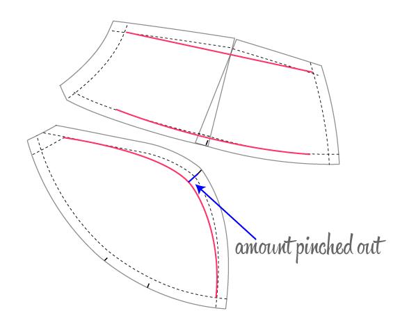 Как уменьшить объем бюстгальтера своими руками видео