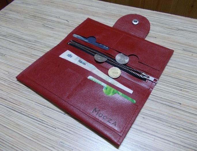 Выкройка портмоне своими руками