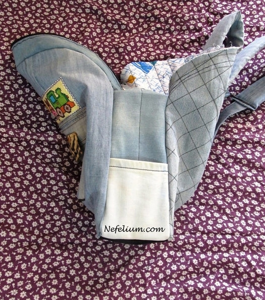 Рюкзак из джинса фото и выкройки