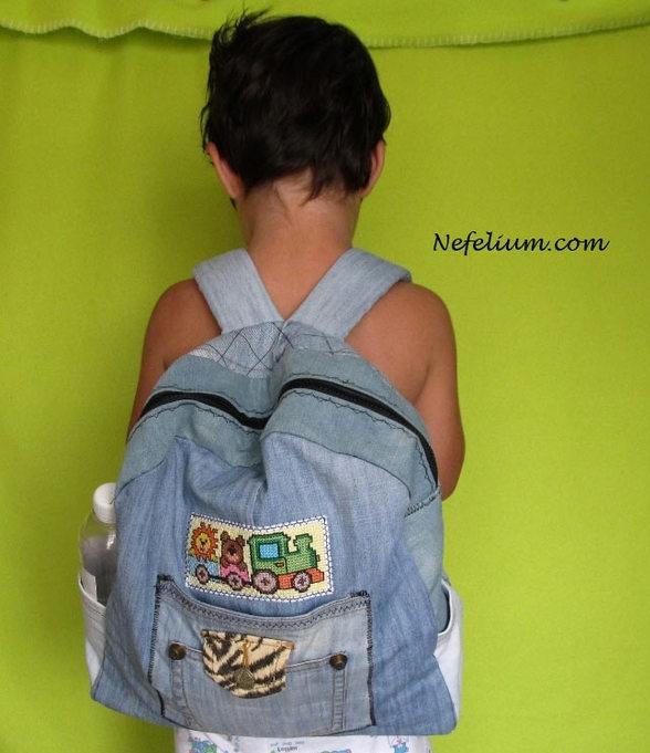 Детский рюкзак мальчику своими руками 361