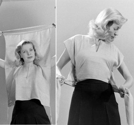 Шитьё блузка мастер класс своими руками #1