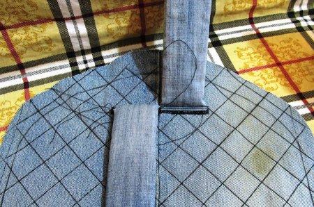 Как сшить детский рюкзак из старых джинсов: выкройка и мастер класс