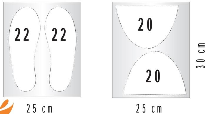 Тапочки своими руками Выкройки и пошив трех видов 104