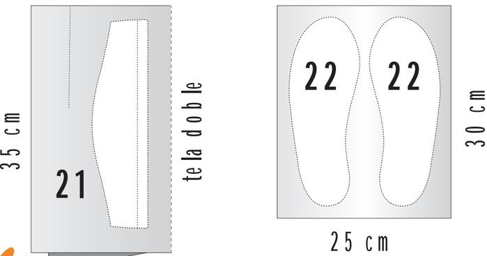 Как сшить тапочки своими руками выкройка тапочек