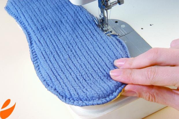 Как сшить домашние тапочки своими руками: выкройка