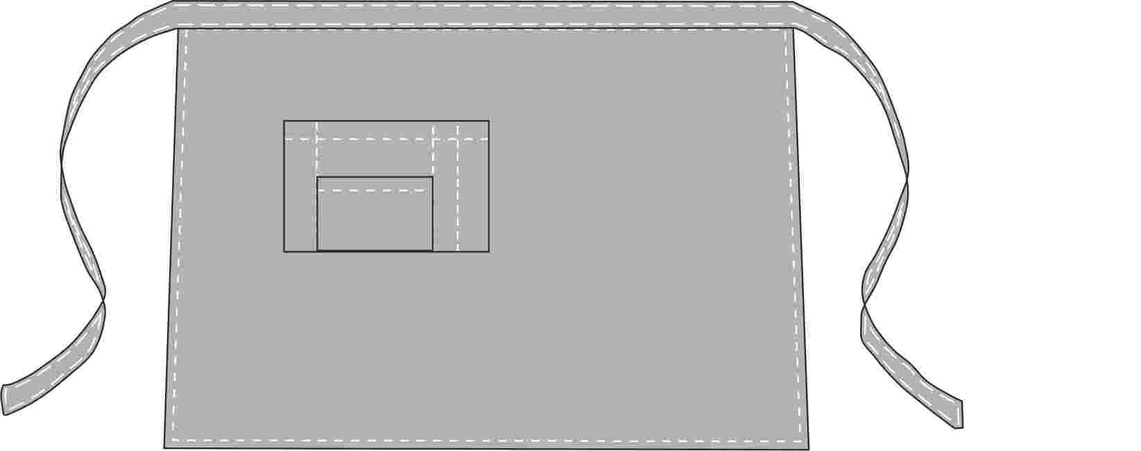 Схемы выкройки фартуков