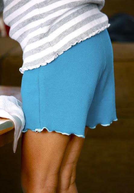 Пошив шорт женских своими руками