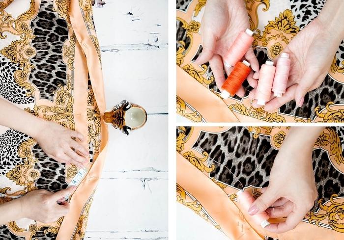 Сшить тунику своими руками из платков своими руками 9