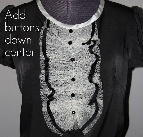 Всего за полчаса у вас новая блуза или платье! Видео по темам 10