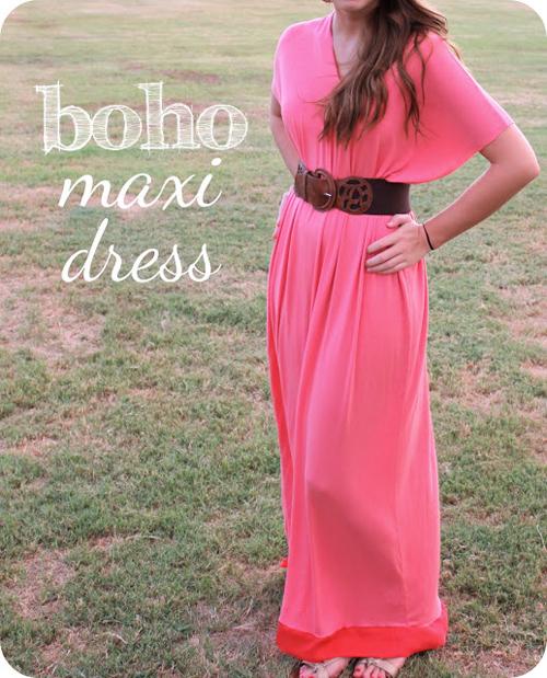 Платье в пол летнее без выкройки