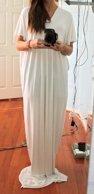 Шьем платье в пол своими руками видео