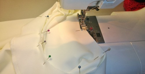 Как сделать платье с цельнокроеным рукавом