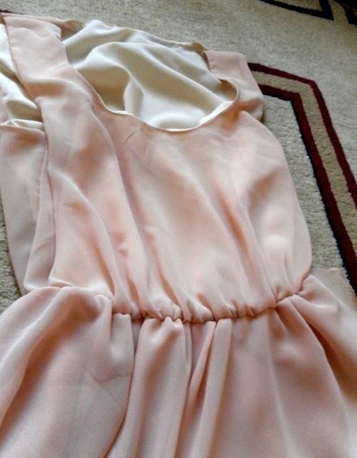 Сшить платье на подкладе от а до  447