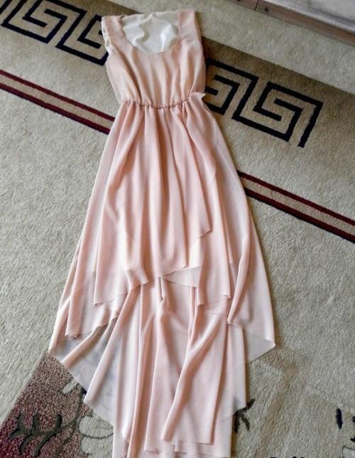Сшить платье из простыни