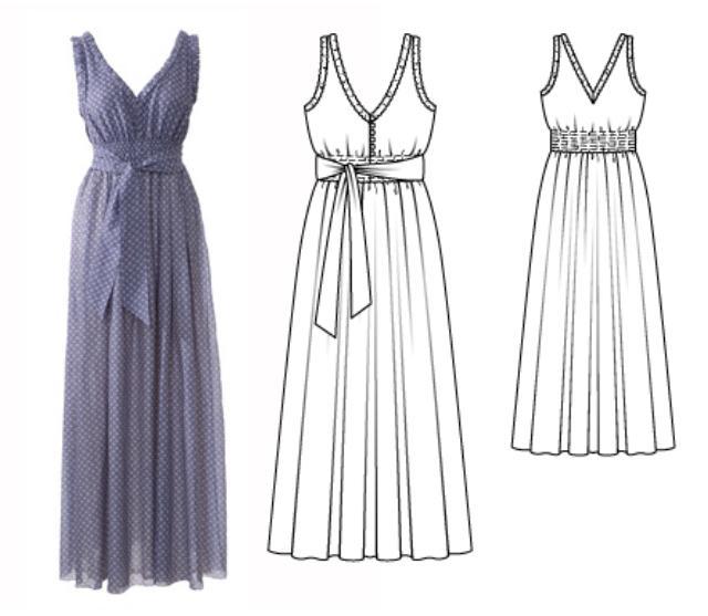 Как сшить греческое платье своими руками выкройка