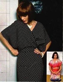 Платье кимоно своими руками выкройка