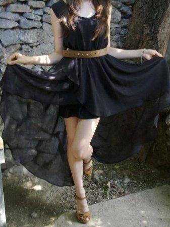 простая выкройка легкого платья