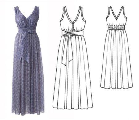 Греческое платье своими руками