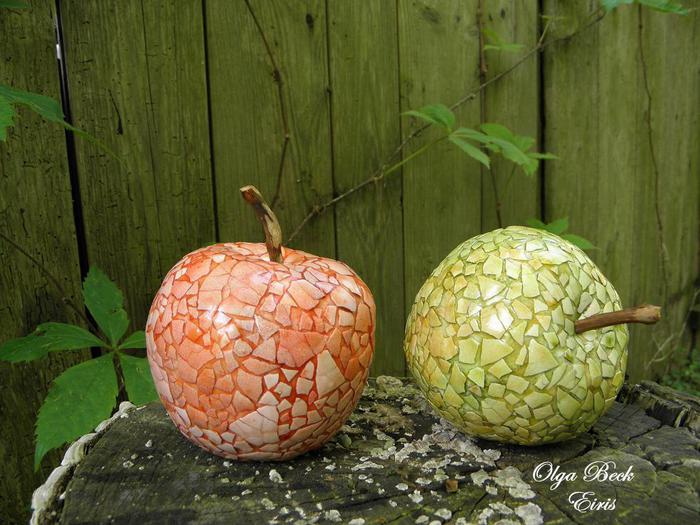 Папье-маше фрукты своими руками