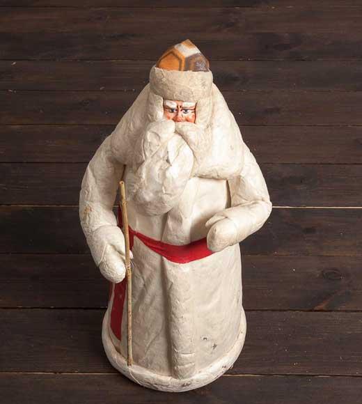Дед мороз своими рука из ваты