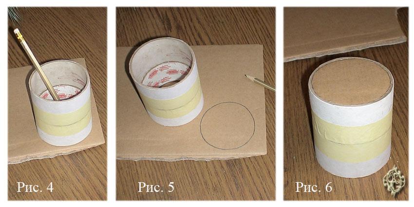 Как сделать коробку из папье