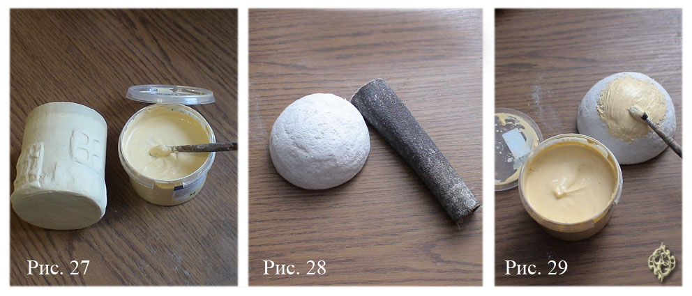 Шпаклевка для папье-маше своими руками 8