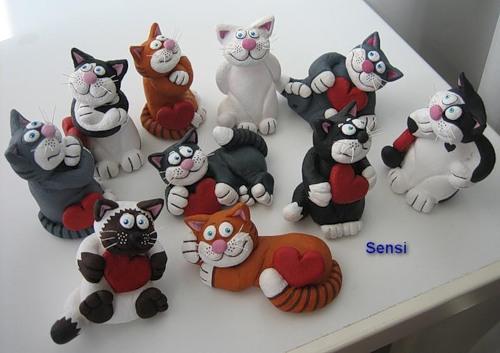 Кошки и коты из соленого