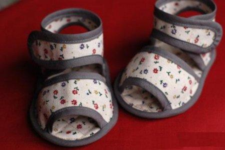 Детская обувь своими руками: выкройка и мастер класс по шитью сандалий для ребенка