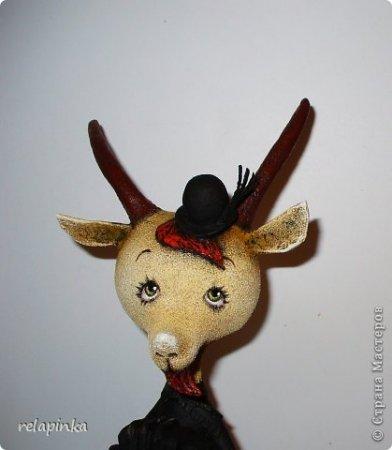 Козлик из папье маше: мастер класс по изготовлению козы