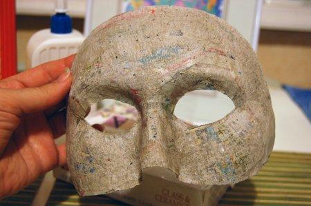 Как сделать лицо куклы из папье маше фото 845