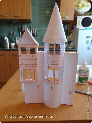Сказочный домик из соленого