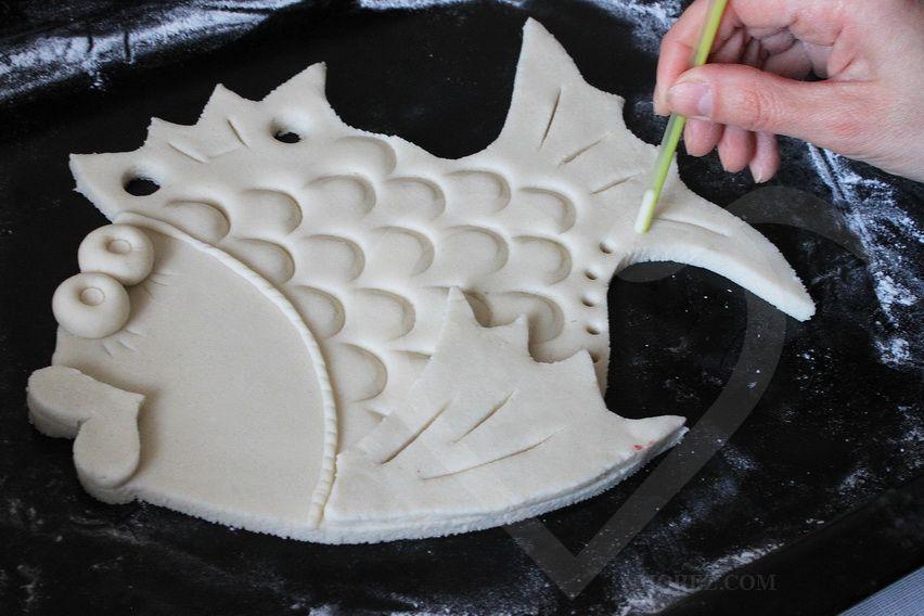 Как сушить поделку из глины
