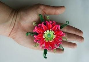 Мастер класс по изготовлению цветов для скрапбукинга своими руками