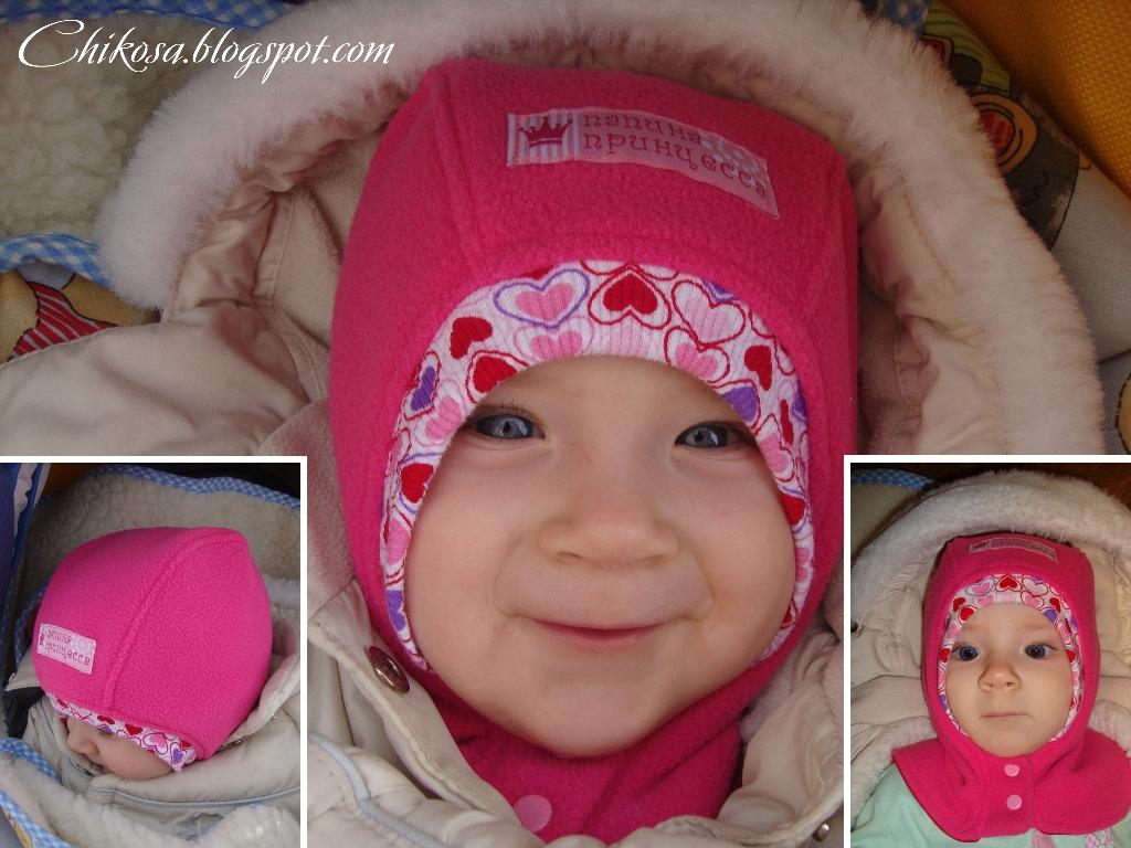выкройка флисовой шапочки для малыша