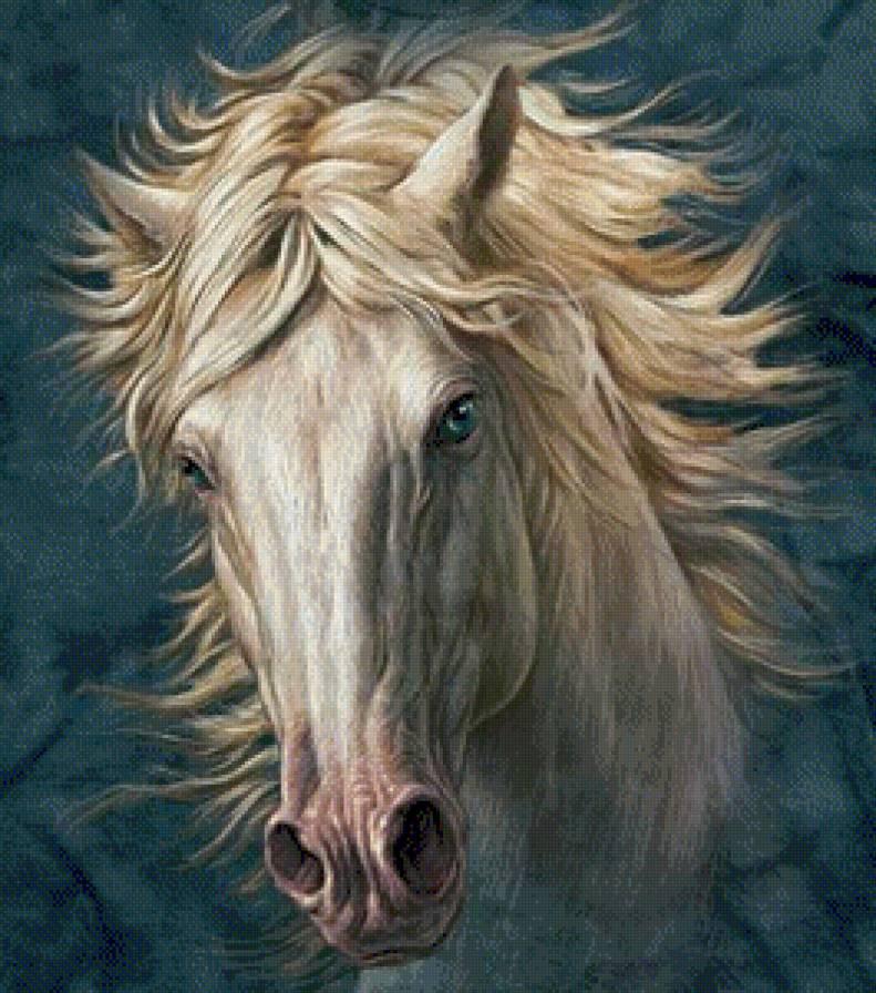 Вышивка крестом бесплатные схемы лошади