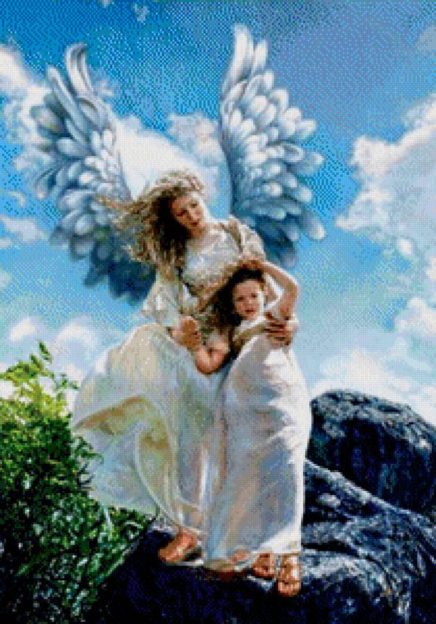 Скачать схему ангел— хранитель