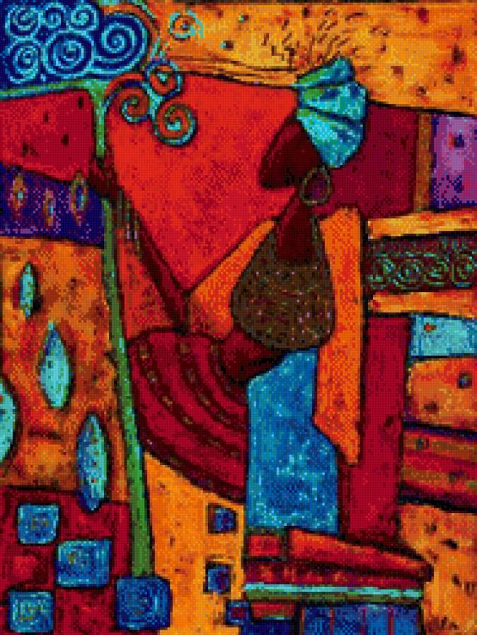 Бесплатные схемы вышивки крестом африканские мотивы