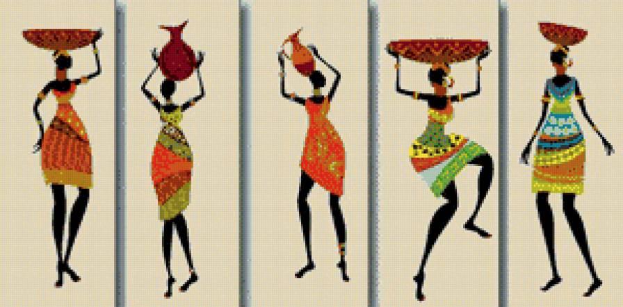 Бесплатные схемы вышивок африканских мотивов