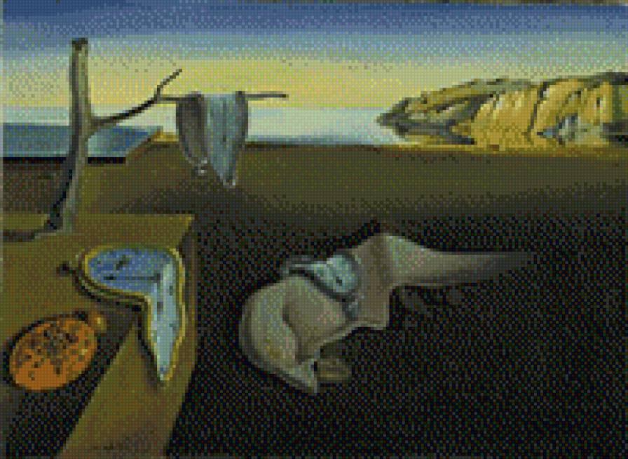 Схема вышивок по картинам классиков