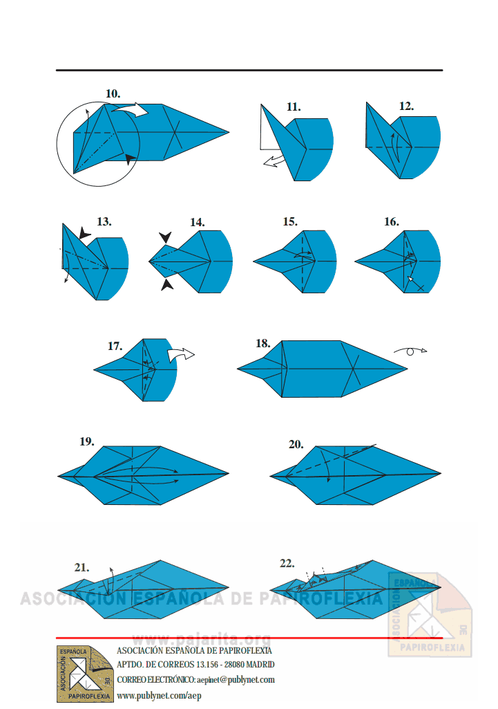 Как сделать акулу из бумаги фото 615