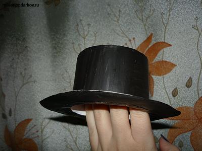 Шляпка из бумаги своими руками пошаговое фото